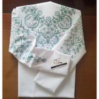 Візерункове намисто - заготовка блузки під вишивку