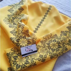 Жовте Багатство - заготовка жіночої блузки