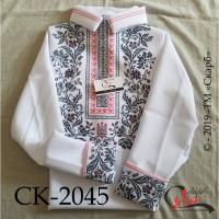 Сокальський орнамент - заготовка чоловічої сорочки