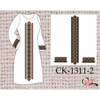 """""""Весняний орнамент"""" заготовка жіночої сукні - 2 вид"""