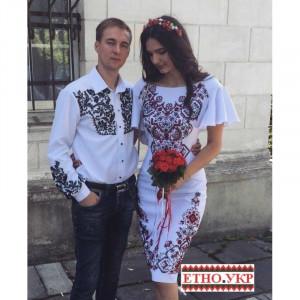 """""""Візерункове намисто"""" заготовка плаття під вишивку"""