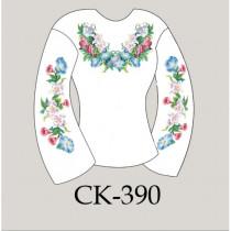 """""""Квіткова пектораль"""" заготовка жіночої блузки"""