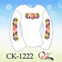 Патріотична2 - заготовка дитячої блузки під вишивку