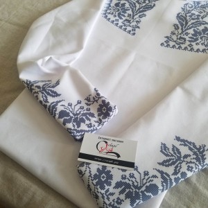 Сучасність - заготовка чоловічої сорочки під вишивку нитками або бісером - Uzor.com.ua