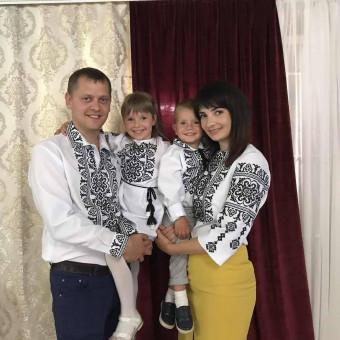 Сімейний комплект заготовок під вишивку Родина