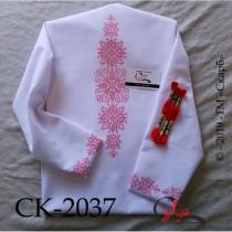 Монохромний розпис - заготовка блузки під вишивку