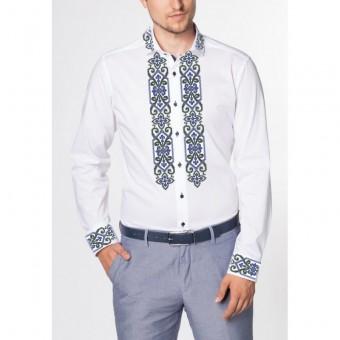 Срібний вечір - заготовка чоловічої сорочки