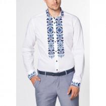 Блакитний вечір - заготовка чоловічої сорочки