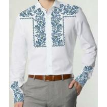"""Заготовка чоловічої сорочки під вишивку """"Традиційний орнамент"""""""