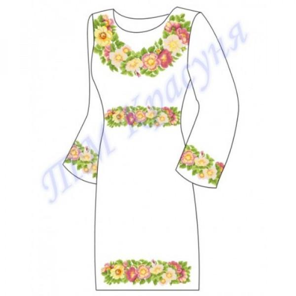Заготовка плаття під вишивку бісером