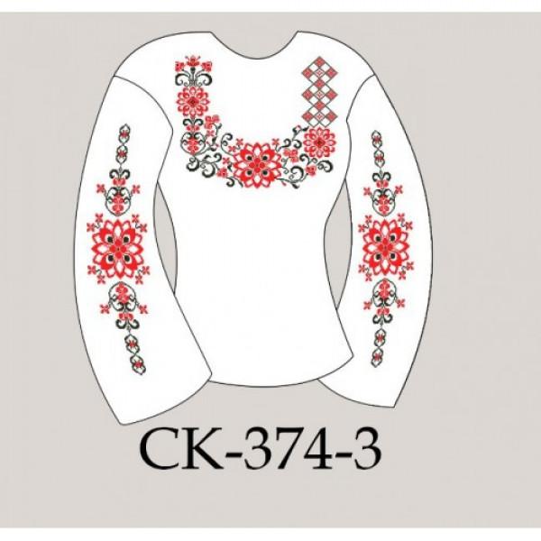 Заготовка жіночої блузки під вишивку