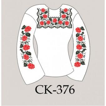 """Заготовка жіночої блузки під вишивку """"Поліські троянди"""""""